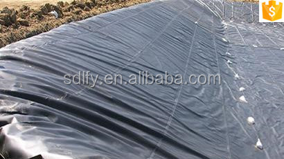 1.5mm ASTM Standard Smooth And Black HDPE Geomembrane Liner For Pond