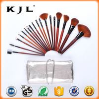 Flower Case 7pcs Portable Brushes Cosmetics Make Up