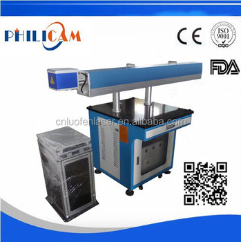 80W CO2 laser marking machine for plastic