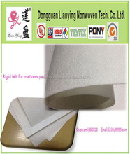 100% recycle polyester needle punched mattress felt/mattress pad for mattress use