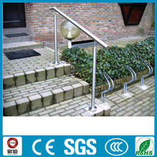 Cheap price outdoor metal stainless steel handrail for steps