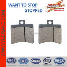 Supply Good Quality Motorcycle APRILIA- SR 50 Brake pads, aftermarket ATV/dirt bike/off-road/motorcycle brake parts manufacturer