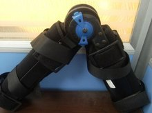Orthopedic knee support brace/rom hinged knee brace with FDA and CE Certificate