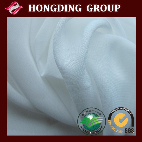 PFD chiffon wholesale fabric prepare for dyed Cloth