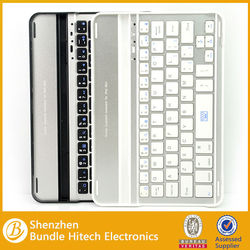 For iPad mini Bluetooth Keyboard For iPad mini Aluminum Keyboard with Holder Stand