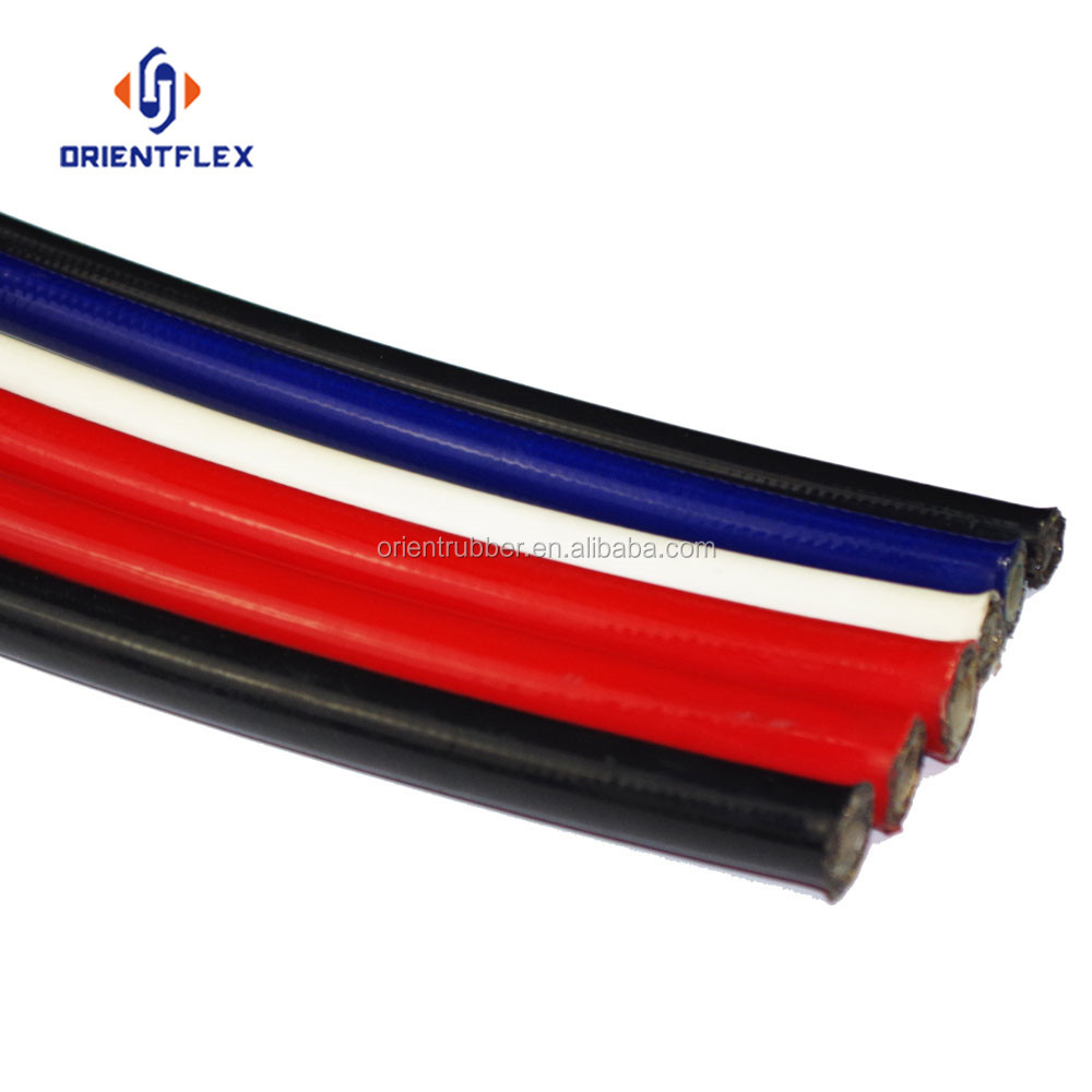 Superior reinforced anti-aging sae r7 fibre braid hydraulic hoses manufacturer supplier