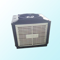 Evaporative air cooler for industry and poultryhouse