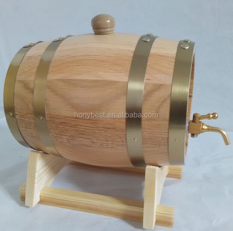 High Quality Wholesale FSC Custom Wooden Wine Barrels with Factory Price
