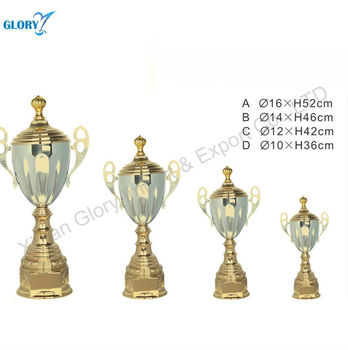 Tea pot shaped metal trophy components