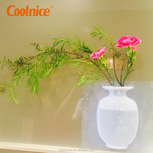 Modern flat silicone mini shapes home decoration flower vase