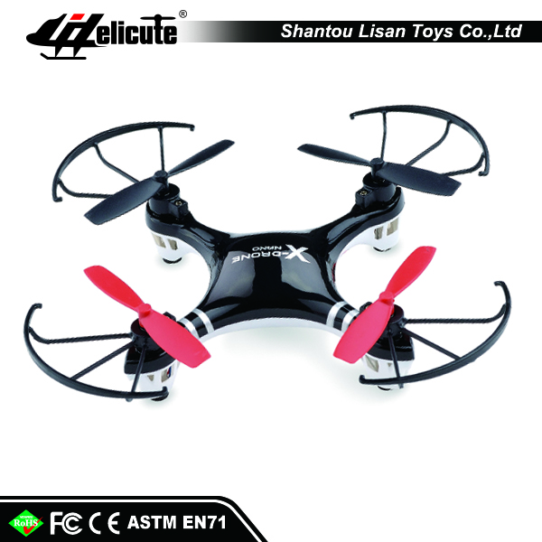 New version 2.4G 4CH rc racing drone quadrocopter with led light