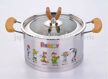 beautiful out look 28cm stainless steel steamer pot