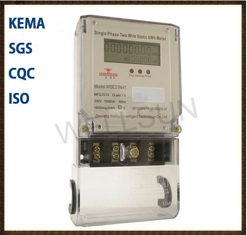 Single Phase Static kwh Meter
