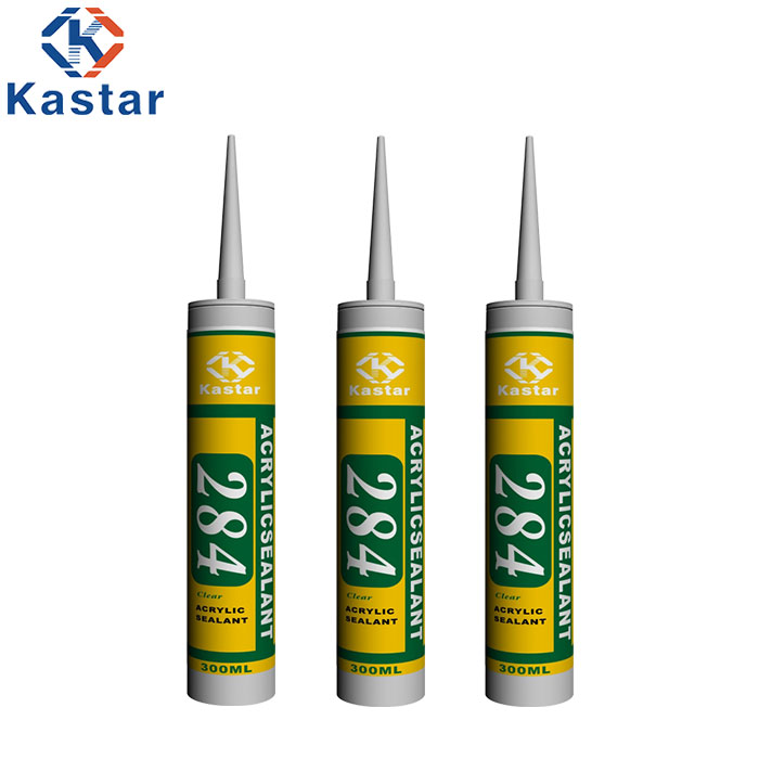Anti UV Silicone Acrylic Sealant For Air Duct