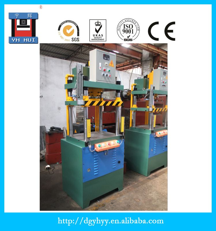 Hydraulic Power Press Four Pillars Single Action Fast Die Castings Edge Trimmer