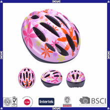custom colorful cheap kids bike helmet