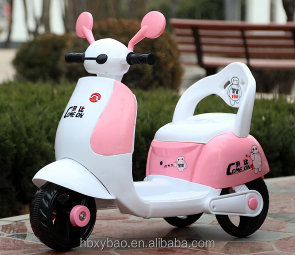 Lovely children ride on motorcycle toy electric scooter baby motorcycle for kids