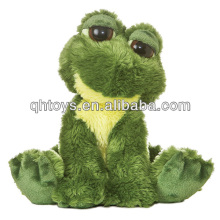 Small stuffed soft toy plush frog