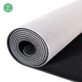 Hot selling meditation durable gym custom photo graphic microfiber eco friendly yoga mat