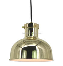 Gold new light publish metal antique E27 hanging pendant lamp