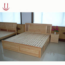Modern heavy duty cheap price solid wood bunk bed