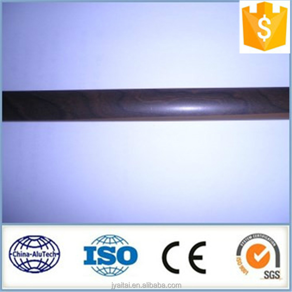 black anodized aluminium extrusion pipe
