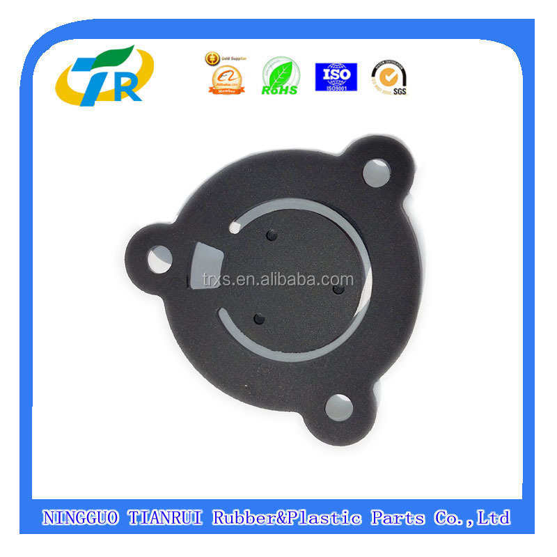 OEM SB305.3-61013 Garden Tools rubber flap valve, gasoline water pump intake gaskets spare rubber parrts china(mainland)