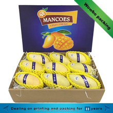 hot sale creative high grade mango fruit packing carton