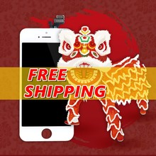 Mobile phone lcd display+ touch for apple iphone 5 5g with free DHL