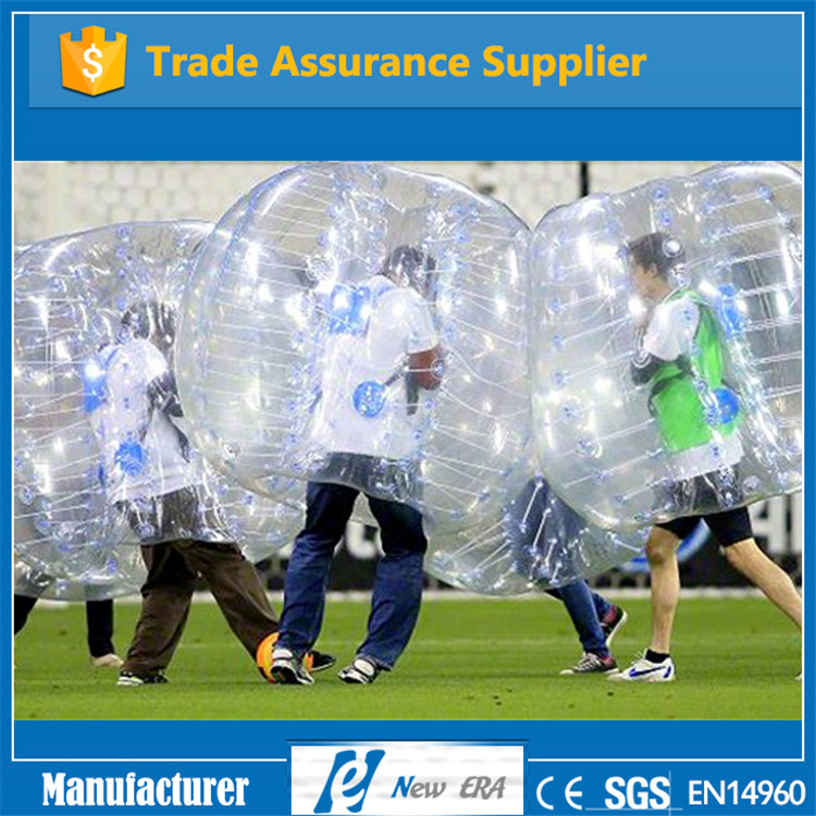 2016 best selling PVC/TPU inflatable buddy bumper ball for adult