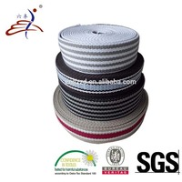 Custom Colored Striped Cotton Elastic Band