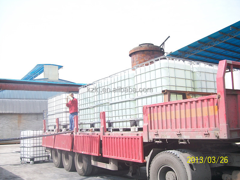 UAN urea ammonium nitrate solution in flexi bladder/IBC