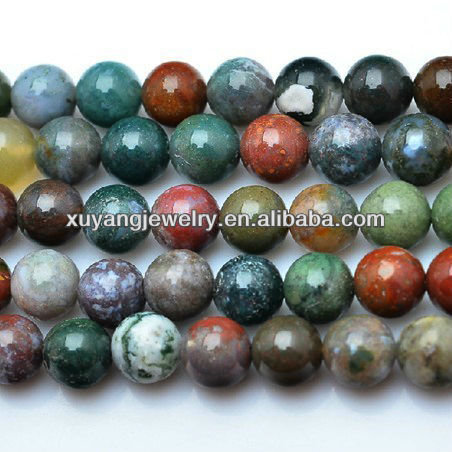 Natural multicolor agate beads wholesale (AB009)