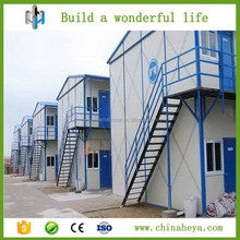 Easy install double light steel prefab house for dorms,office,house,home