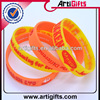 Cheap personalized tie dye silicone bracelet