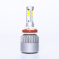 COB chip 12v 24v L6 3800lumen led light lamp h1 h3 h4 h7 h11 h13 9005 9006 9007 led car headlight bulbs conversion kit