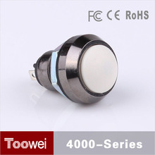 Toowei waterproof pushbutton switch on and off for machine