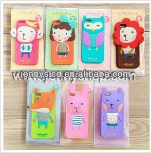 Hot selling Mobile Phone protection silicon case for iphone