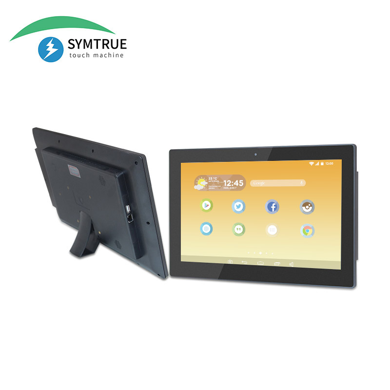 Full HD capacitive touch POE power 14 inch android <strong>tablet</strong>