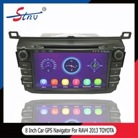 8 Inch Double Din Car Stereo For RAV4 Toyota With GPS Navigation