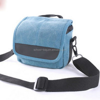 Wholesale Waterproof Travel Hiking Canvas Camera Bag Camera Assistant Bag