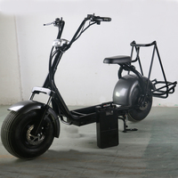 2017 factory citycoco chargable long life span 2 wheel standing up electric golf cart scooter with electric with CE/ROHS