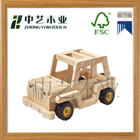 2015 popular modern hot sale classic wooden car truck toy educational wooden car toy
