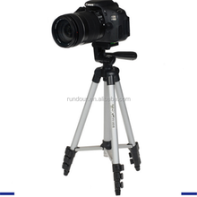 Universal Camera Tripod for DSLR Camera for Iphone Weifeng WT3110A Camera Tripod Aluminum with 3-Way 350mm-1020mm