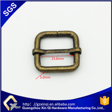 1 inch anti brass metal adjust buckle for shoes accessories