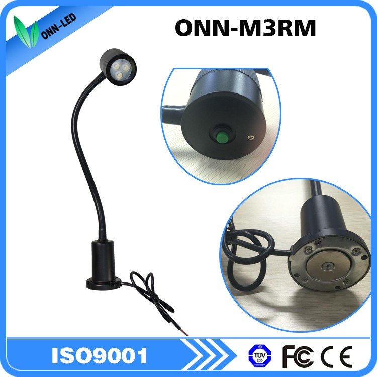 ONN-M3RM IP63 magnetic base led work lamp/machine light