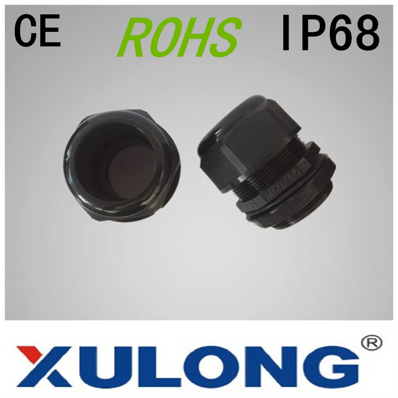 XULONG factory outlet explosion proof cable gland size M25 Nylon cable gland