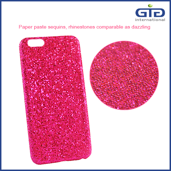 OEM Glitter Leather Phone Cover Case For iPhone 6s