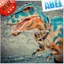 Hot sale realistic inflatable dinosaur t rex costume for adults suit dinos