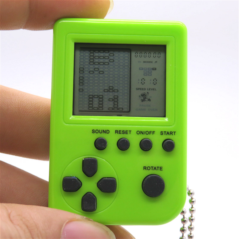 2018 NEW mini handheld real pocket electronic brick game player consoles 9999 in 1